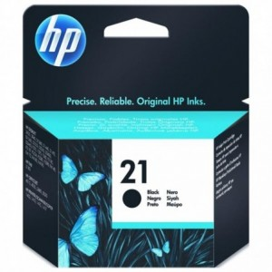 Cartus inkjet HP nr. 21 Negru C9351AE - ACOMI.ro