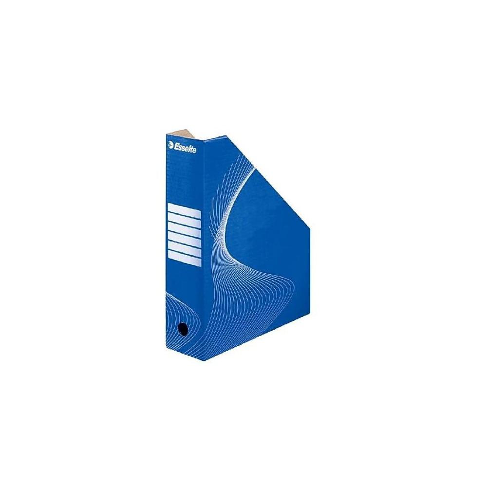 Suport vertical  albastru cu alb