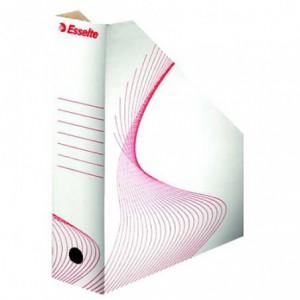 Suport vertical  alb cu rosu