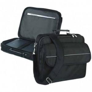 Geanta laptop 15.4, polyester DuraFibre, FALCON – negru ACOMI.ro