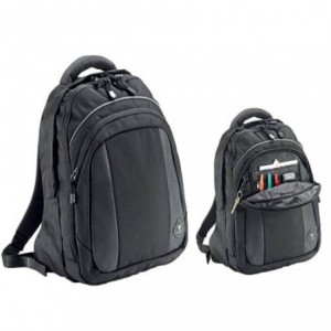 "Rucsac laptop 16"" (31x41x16cm), polyester DuraTuff FALCON- negru/gri ACOMI.ro"