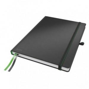 Caiet de birou LEITZ Complete, A4, matematica - negru - ACOMI.ro