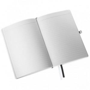 Caiet de birou A5, LEITZ Style, coperti flexibile - grena, hartie crem - dictando - ACOMI.ro
