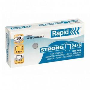 Capse 24/6 RAPID Strong, 1000 buc/cutie