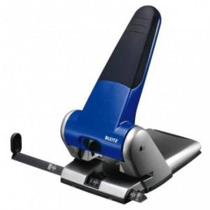 Perforator pentru 65 file LEITZ 5180 - albastru