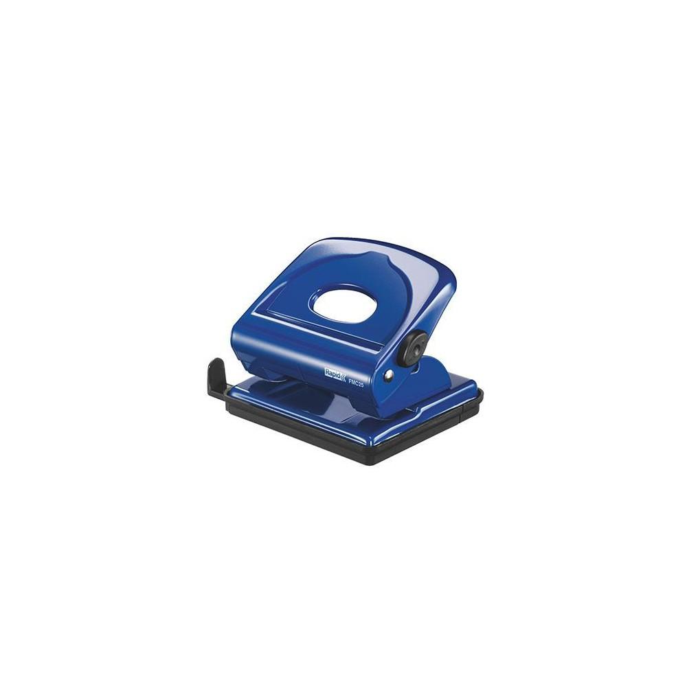 Perforator max. 25 file RAPID RAPID FMC25 - albastru