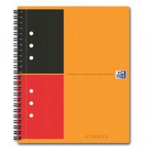 Caiet de birou cu spira, A5+, 80 file, dictando, Doc Activebook OXFORD - ACOMI.ro