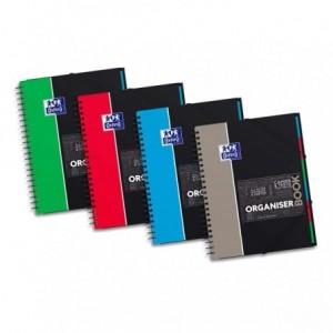 Organiserbook 243 x 310 mm, 80 file, dictando, 6 separatoare,  OXFORD - ACOMI.ro