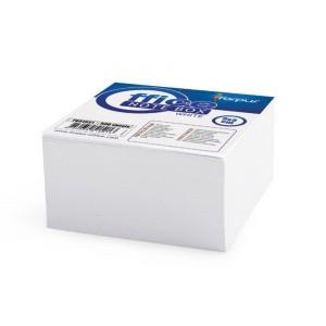Rezerva cub hartie alba, 500 coli lipite, 9x9cm, FORPUS - ACOMI.ro