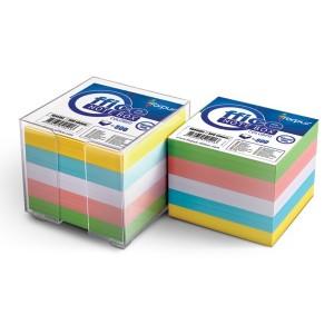 Suport cub, rezerva hartie color, 9x9cm, 800 coli - FORPUS - ACOMI.ro