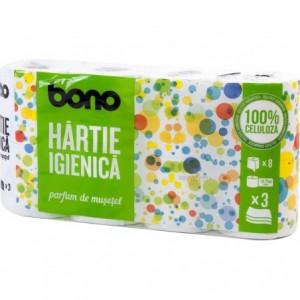 Bono hartie igienica parfumata 8 role