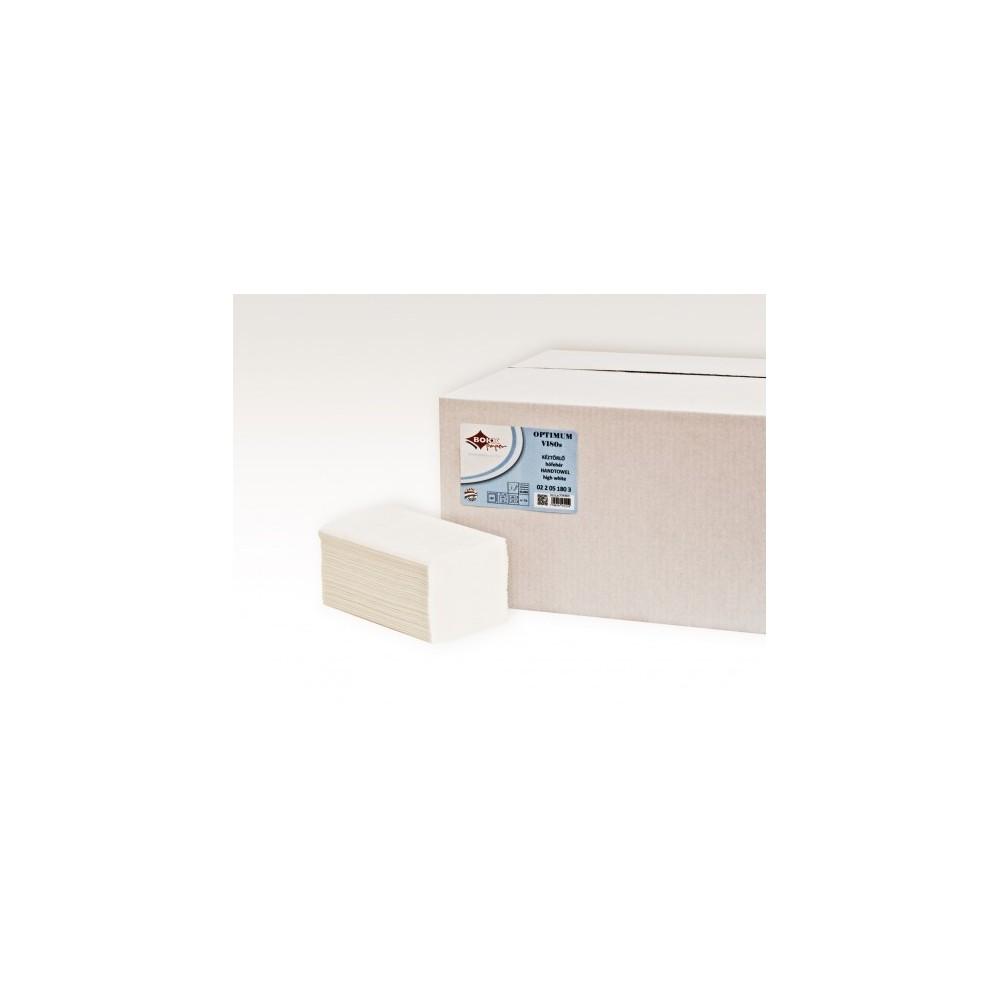 BOKK Servetele pliate albe BOKK Optimum, 21 x 25 cm, V180 - ACOMI.ro