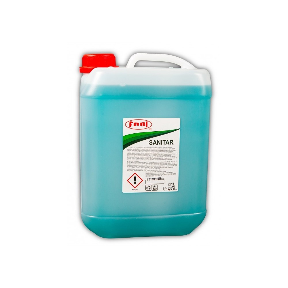 Detergent profesional sanitar, 5L, Fabi ECO - ACOMI.ro