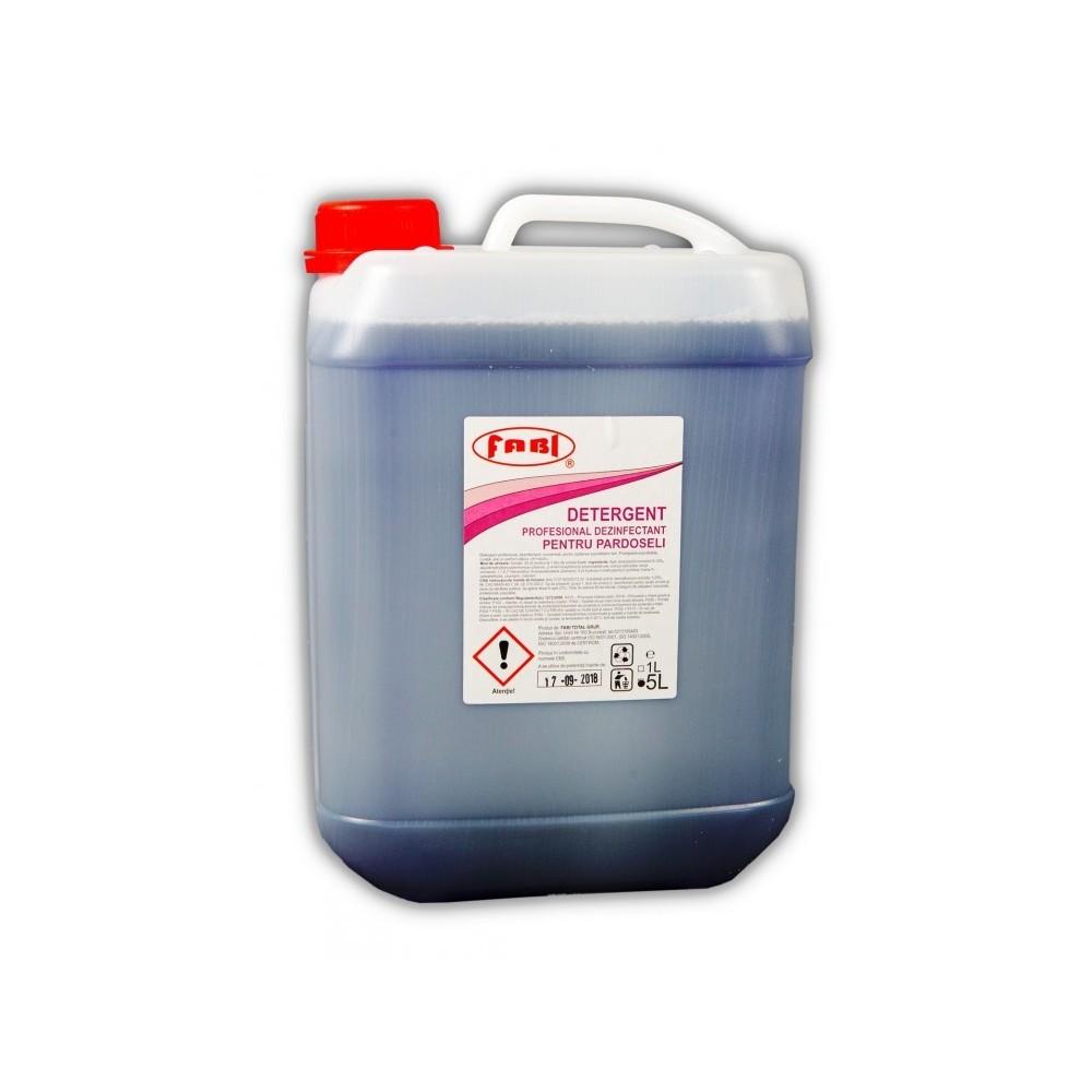 Detergent profesional dezinfectant pentru pardoseli mov, 5 L, Fabi ECO - ACOMI.ro