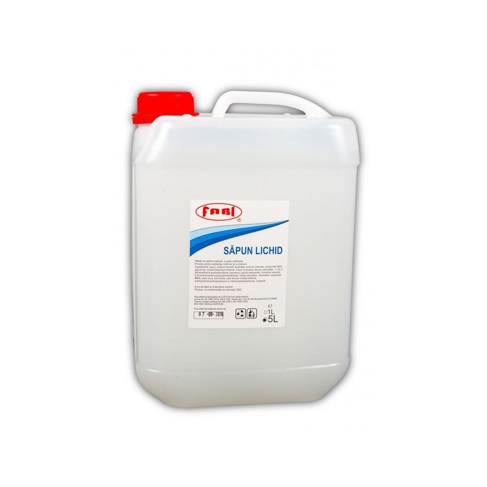 Sapun lichid alb 5L, Fabi ECO - ACOMI.ro