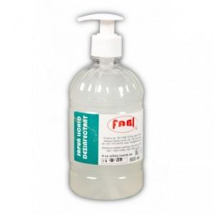 Sapun lichid antibacterian 500ml cu pompita, Fabi ECO - ACOMI.ro