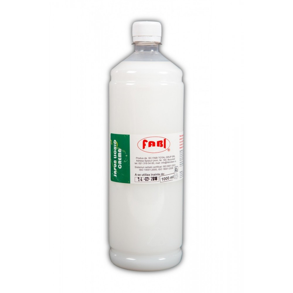 Sapun lichid crema 1L, Fabi ECO - ACOMI.ro