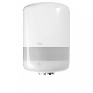 Dispenser Midi pt. prosop derulare centrala, alb, Tork - ACOMI.ro