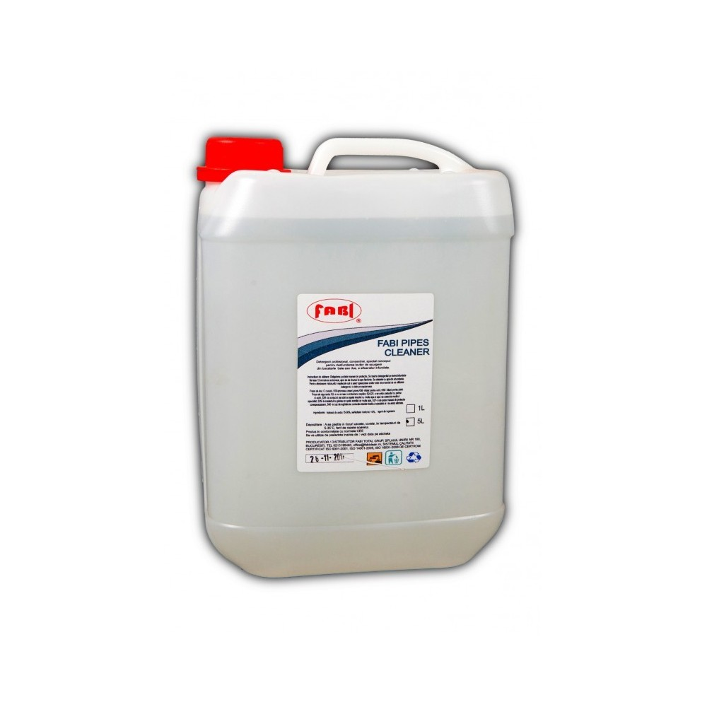 Solutie lichida pentru desfundat scurgeri 5L Fabi ECO - ACOMI.ro