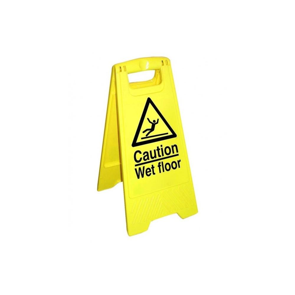 """Semnal avertizare """"Wet Floor"""" Euromop 7003034.02 - ACOMI.ro"""