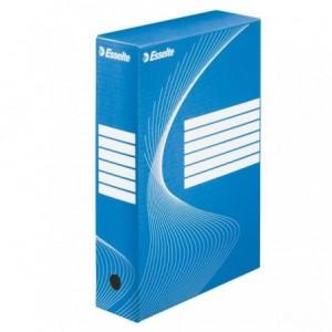 Cutie arhivare ESSELTE Boxycolor, 8cm - albastru vivida - ACOMI.ro
