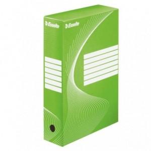 Cutie arhivare ESSELTE Boxycolor, 8cm - verde vivida - ACOMI.ro