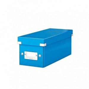 Cutie pentru CD-uri, albastru, LEITZ Click & Store - ACOMI.ro