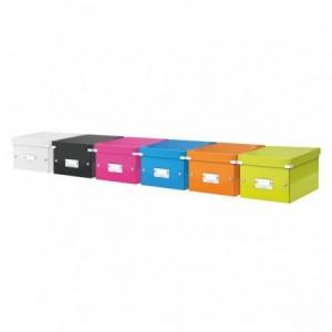 Cutie pentru arhivare, 216 x 160 x 282mm, roz, LEITZ Click & Store - ACOMI.ro