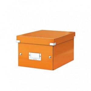 Cutie pentru arhivare, 216 x 160 x 282mm, portocaliu, LEITZ Click & Store - ACOMI.ro