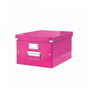 Cutie pentru arhivare, 281 x 200 x 370mm, roz, LEITZ Click & Store - ACOMI.ro