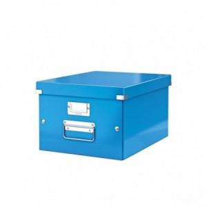 Cutie pentru arhivare, 369 x 200 x 484mm, albastru, LEITZ Click & Store - ACOMI.ro