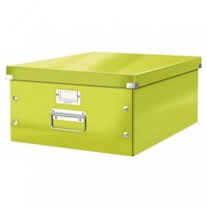 Cutie pentru arhivare, 369 x 200 x 484mm, verde, LEITZ Click & Store - ACOMI.ro