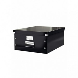 Cutie pentru arhivare, 369 x 200 x 484mm, negru, LEITZ Click & Store - ACOMI.ro