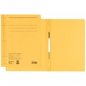 Dosar din carton, cu sina, 250 g/mp, galben, LEITZ - ACOMI.ro