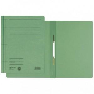 Dosar din carton, cu sina, 250 g/mp, verde, LEITZ - ACOMI.ro