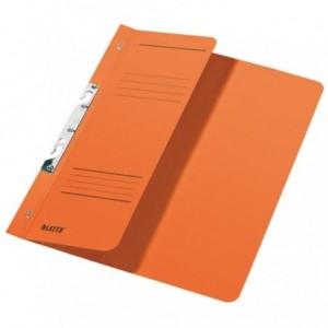 Dosar din carton, incopciat 1/2, 250 g/mp, portocaliu, LEITZ - ACOMI.ro