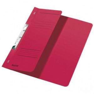 Dosar din carton, incopciat 1/2, 250 g/mp, rosu, LEITZ - ACOMI.ro