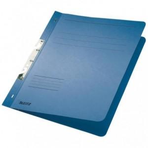 Dosar din carton, incopciat 1/1, 250 g/mp, albastru, LEITZ - ACOMI.ro