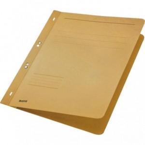 Dosar din carton, cu capse 1/1, 250 g/mp, kraft, LEITZ - ACOMI.ro