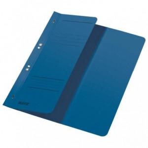 Dosar din carton, cu capse 1/2, 250 g/mp, albastru, LEITZ - ACOMI.ro