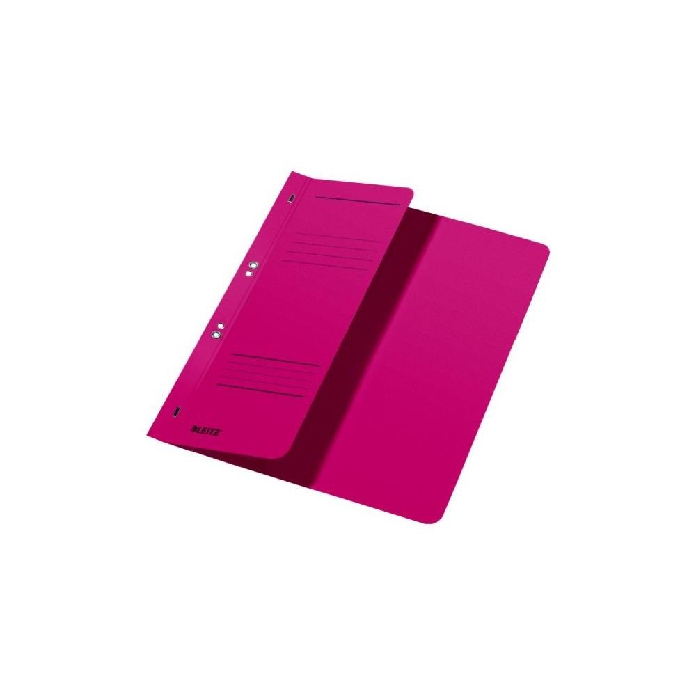 Dosar din carton, cu capse 1/2, 250 g/mp, rosu, LEITZ - ACOMI.ro
