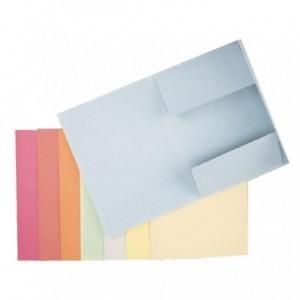 Dosar din carton, plic, 250 g/mp, albastru pal, Esselte - ACOMI.ro