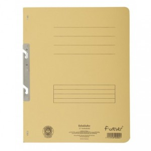 Dosar carton incopciat 1/1, 250 gr/mp, galben, Exacompta - ACOMI.ro