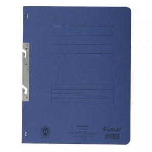 Dosar carton incopciat 1/1, 250 gr/mp, albastru, Exacompta - ACOMI.ro