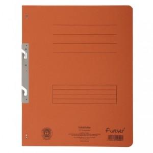 Dosar carton incopciat 1/1, 250 gr/mp, portocaliu, Exacompta - ACOMI.ro
