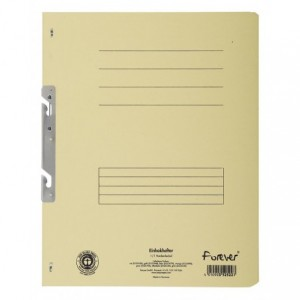 Dosar carton incopciat 1/1, 250 gr/mp, natur, Exacompta - ACOMI.ro