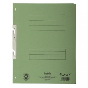 Dosar carton incopciat 1/1, 250 gr/mp, verde, Exacompta - ACOMI.ro