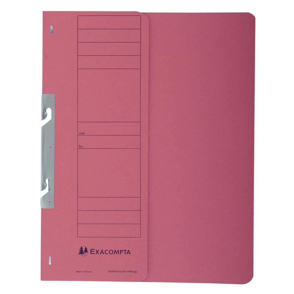 Dosar carton incopciat 1/2, 250 gr/mp, rosu, Exacompta - ACOMI.ro