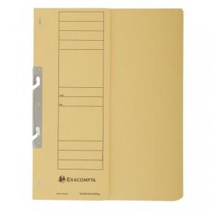 Dosar carton incopciat 1/2, 250 gr/mp, galben, Exacompta - ACOMI.ro