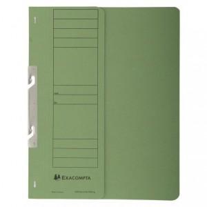 Dosar carton incopciat 1/2, 250 gr/mp, verde, Exacompta - ACOMI.ro